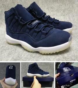 RE2PECT 11S Melhor Qualidade Prm Derek Jeter 11 SD Jeter RE2PECT Sapatos de basquete com caixa