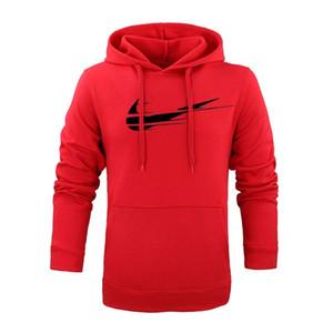 남성 후드 긴팔 2018 여름 재킷 풀오버 패션 브랜드 로고 인쇄 레드 까마귀 남성 탑스 티셔츠 16 색 남성