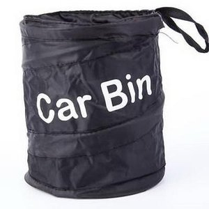 Garbage carro pode Protable Trash poli Auto Viajar maca dobrável Bag Universal Acessórios Lixo Resíduos Bin