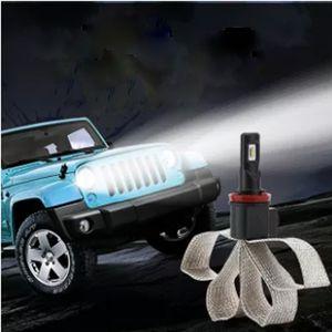 80W H1 H4 H7 H11 H13 9004 9005 9006 9007 di conversione LED corredo della lampada del faro del Cree XHP-50 lampadina bianca 6000K