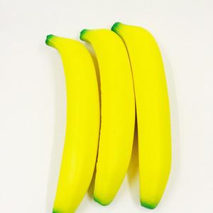 squishies 과일 도매 바나나 squishy 느리게 전화 스트랩 귀엽다 드문 squishy 부엌 장식 아이 장난감 chirismas 선물 무료 배송