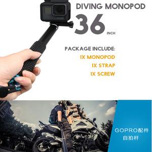 Neu pro Go Hand Selfie Sticks Einbeinstativ für GoPro HERO 5 4 Sitzung sjcam sj4000 sj5000x sj9000 xiaomi yi 4k Kamera Zubehör