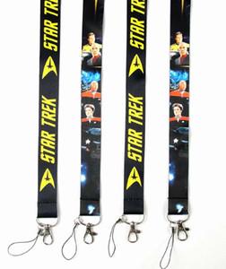 ¡Caliente! 20 unids Nuevo Clásico Deisgn Star Trek Lanyards ID Tarjeta Badge Holder Llavero Cuello Llavero ePacket Envío Gratis