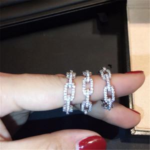 Handmade Classic Promise bague 100% Soild en argent Sterling Bijoux Diamant cz Bague de fiançailles bagues pour femmes