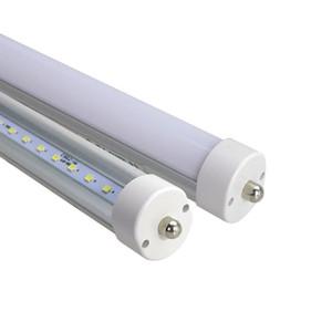 8feet 8ft FA8 LED Tube LED unique Pin 45W Tubes Lumière Repalcement Tube fluorescent Lampe LED 2400mm SMD2835 ampoule d'éclairage lumière gros chaud