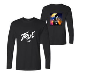 Мужская весна осень с длинными рукавами футболки Швеция DJ Avicii печати Женщины Повседневная свитер любителей тройники круглый вырез толстовка футболка