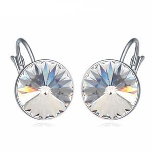 Kadınlar Hediye için SWAROVSKI Moda Piercing Parti Takı itibaren Klasik Bella Damla Küpe Kristaller