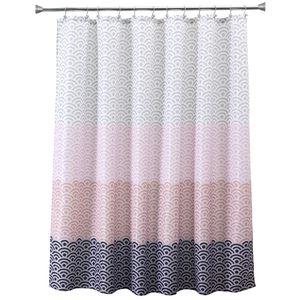 Eco-friendly più rosa Vasca da bagno doccia cortina di tessuto Liner con 12 ganci 72Wx80H pollici impermeabile e Mildewproof