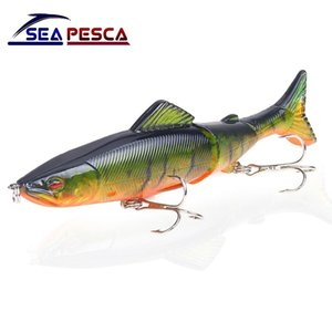 Popular Fishing Lure 130mm 18g Multi Jointed Sections Hard Bait Artificial Crankbaits pesca Wobblers JK56