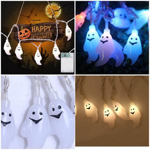 2,5 m 20 LED Ghost Led Lichterketten Lampe Für Halloween Party Decor Halloween Led String Licht Dance Party Hallowen Dekoration