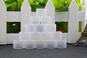 Jetable Silicone Drip Tips Transparent Vape Test 11mm 510 Embout Embout Pour E Cigarettes Atomiseur Réservoir Capuchon En Silicone