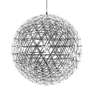 Modern LED Bola de Fogo De Artifício Lâmpada de Assoalho de Aço Inoxidável Rainmond Candeeiro De Mesa Luminária Novo para Sala de estar Sala de Jantar B050