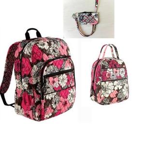 saco Cartão Almoço NWT Campus tecnologia Backpack Bolsa Escola + Bag +