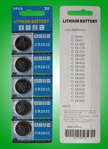 فائقة الجودة CR2032 بطاريات الخلايا زر خلية ليثيوم عملة 3V للساعات أضواء الصمام اللعب المقاييس