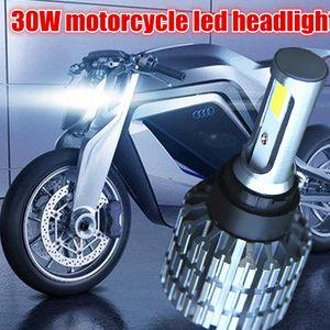 H4 вело набор 6000K преобразования шарика 3000lm 30W Hi/Lo фары мотоцикла h6