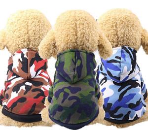 강아지 옷 위장 강아지 까마귀 코트 부드러운 애완견 강아지 자켓 겨울 작은 강아지 겉옷 개 운동복 애완 동물 용품 6 디자인 YW1512