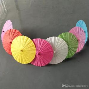 Parapluies en papier de couleur pour les parapluies de mariage en Chine pour les gros DHL gratuits