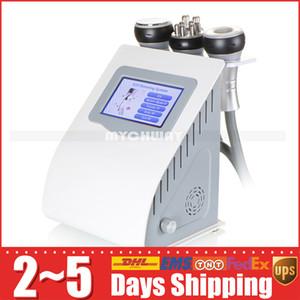 tüccar ile 5in1 etkili güçlü 40K Ultrasonik kavitasyon vücut şekillendirici zayıflama vakum RF cilt Firma vücut asansör kırmızı foton makinesi