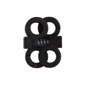 10 Pcs / Lot EDC Gear Tactique En Plein Air Randonnée Bottes Chaussures Grenade Lacet Serrage Non-Slip Boucle Lacet Boucle Clip