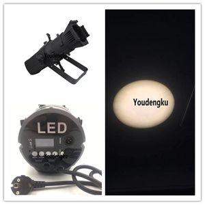 8 pezzi di alta qualità leko LED Fresnel illuminazione da studio Spot light 200W bianco LED pannocchia ellissoidale luce spot da palco