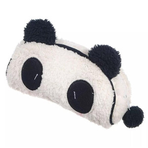 Soft Plush Panda Cosmetic Bag Pencil Phone Card Case Makeup Bag Animal Prints Pouch Purse 18pcs lot