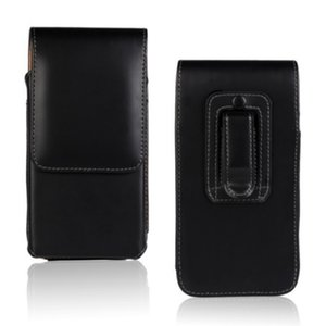 Universal Belt Clip PU Leather Waist Holder Flip Pouch Case for Blackberry Key2 KEYone