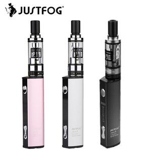 JUSTFOG Q16 Starter Kit 900mAh com 1.9ml Q16 Clearomizer Embutido J-Easy 9 bateria E cig Kit