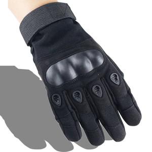 Nuevo estilo de alta calidad barato deporte al aire libre ejército entrenamiento táctico entrenamiento deber guantes llenos del dedo protector