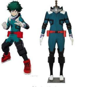 My Hero Boku no Midoriya Izuku Deku costume cosplay battaglia dell'eroe Academia