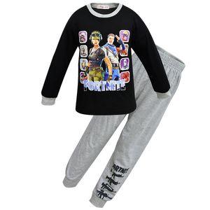 الاطفال ملابس الأولاد أسبوعين البيجامات معركة النصر رويال البيجامة البنين الكبار عيد الميلاد ملابس الفتيات homewear مجموعات النوم
