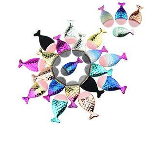 Best Selling Beauty Make-up Produkte 5 Farben für Wählen Sie Meerjungfrau Fisch Griff Kosmetik Make-up Pinsel Set