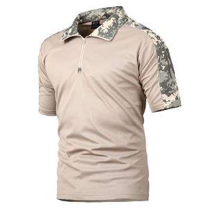 ReFire Dişli Yaz Taktik Kamuflaj T Gömlek Erkekler Çabuk Kuru Askeri Üniforma T-Shirt Nefes Fitilleme Ordu Savaş Tee Gömlek