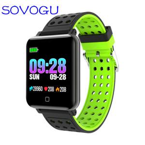 SOVO B80 Sports Smart Watch Fitness Pulsera Vida Podómetro impermeable Fitness Tracker Band Watch para Android IOS pulsera