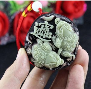 A jadeite Lucky money toad purple jade hand pieces for wholesale, jade pendant on sale