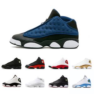 NEW 13s Altitude Navy ИТАЛИЯ СИНИЙ Бордо Chicago Bred DMP Pure Money And Respect Чикаго разводят баскетбольную обувь 13s Мужская спортивная обувь