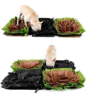 Mascota snuffle Mat Nosework Manta perros Adiestramiento de perros Mats Alimentación Mat Mat delicioso juguete nariz trabajo para liberar el estrés