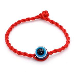 50PCS lot Fashion Red Thread String Blue Evil Eye Bracelet Lucky Red Handmade Rope Bracelet for Women Men Jewelry Lover