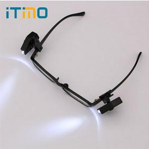 El LED flexibles de luz ajustable para herramientas portátiles Mini Noche Reading Lights Universal