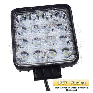 10 adet su geçirmez 48 w Sel / Nokta led İş Işık bar su geçirmez CE RoHS offroad kamyon araba LED çalışma ışığı 12 v 24 v