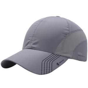 Berretti da tennis Cappello estivo da uomo Quick-Drying Mesh Traspirante Cappello Hat Escursionismo all'aperto Ciclismo Baesketball Golf Tennis Sport Cap
