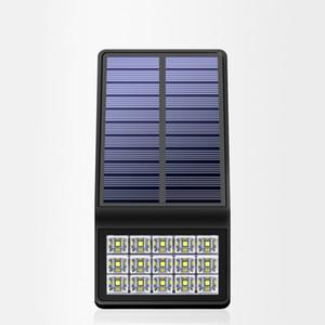 태양 센서 벽 빛 2W 300LM 7 인치 ABS 전원 정원 LED 램프 야외 방수 모션 유도 조명 충전식 배터리 심천