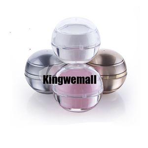 Ücretsiz nakliye - Yüksek Kalite 300pcs / lot Standart 5g Plastik Krem Kavanoz, Kozmetik Ambalaj, Numune Krem Pot, Görüntü Konteyner