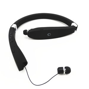 SX-991 Sports Bluetooth Headphones Retractable Foldable Neckband Wireless Headset Anti-lost In Ear Earphones Auriculars