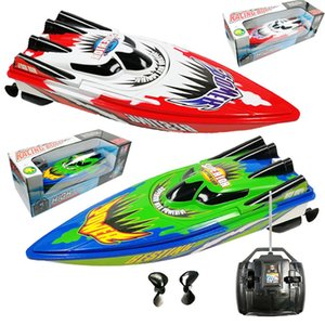 Non rechargeable High Speed Remote Control Yacht 2 Motors Rapid Speedboat Boat