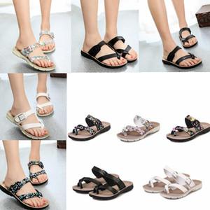 5 couleurs enfants Cork Pantoufles Plage Tongs Mode Douce Semelle Pantoufles Lady Sexy Flat Flip Flops Plage En Plein Air Sandales GGA605 12 paires