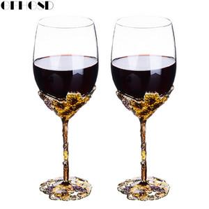 GFHGSD Champagne Flutes vetro Perfetto per i regali di nozze, Set di 2, Crystal tosta le scanalature e bicchieri di vino QAZ1030