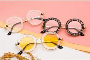 Новые 2018 пчелы GG дом Голландии письмо мужчины солнцезащитные очки женщина ретро круглый очки дамы UV400 очки
