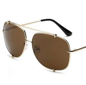 HBK мода негабаритных пилот солнцезащитные очки женщин UV400 ретро бренд дизайнер большая рамка солнцезащитные очки для женщин Дамы очки