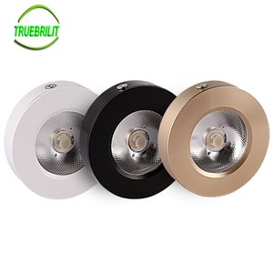 مصابيح السقف LED المعلقة على السطح LED 3W 5W 7W مصابيح لوحة الخزانة Show Down Down Lights COB Spot Ceiling 220V 240V