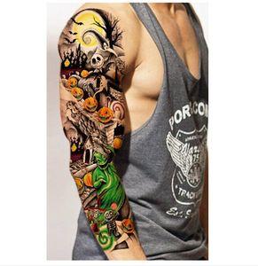 Comercio al por mayor a prueba de agua pegatinas temporales tatuajes para Body Art Flash Tattoo manga Sexy producto falsos tatuajes metálicos pegatinas de transferencia